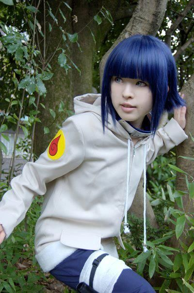 Hinata Hyuuga - Naruto- this is such a good cosplay!