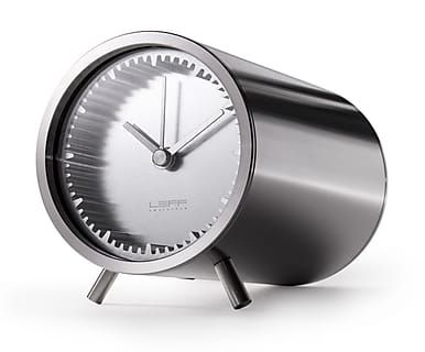 Tubeclock by Piet Hein Eek, zilver, Ø5 cm