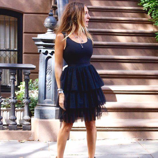 Sarah Jessica Parker Dressed Like Carrie Bradshaw 2016