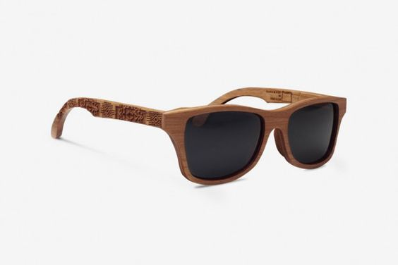 Wood Frame Ray Bans « One More Soul