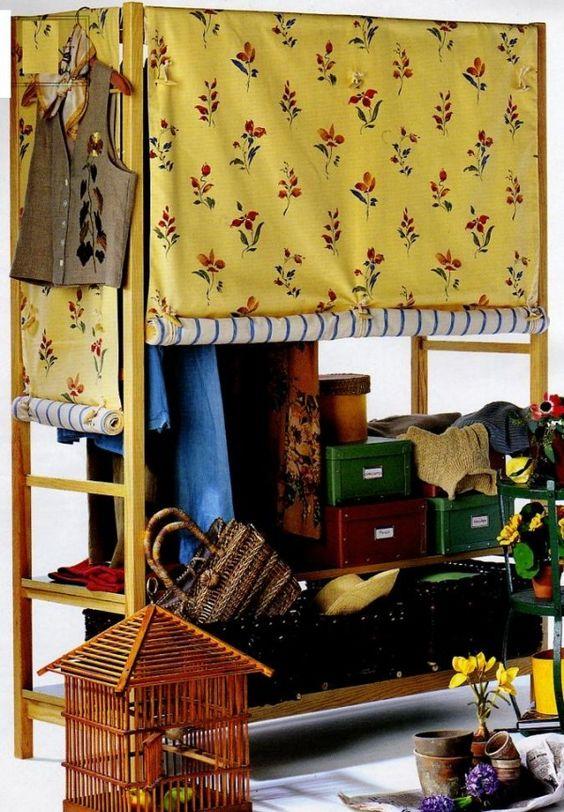 Couture les rideaux fleuris de penderie la boutique du - Boutique de loisirs creatifs ...