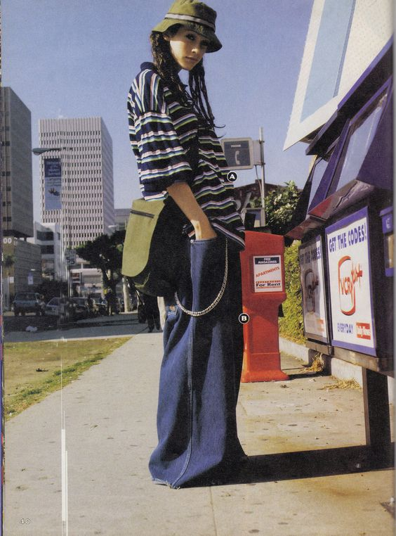 Extreme '90s #Denim #Trend Is Making a Comeback? #jeans #trends #fashion #fashionmagenet