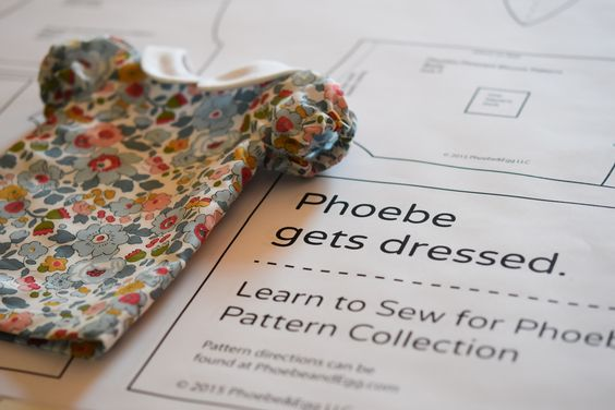 The doll that comes with her own set of patterns. Perfect for making her a wardrobe and learning how to sew!