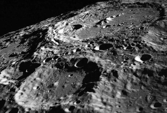 月面の画像
