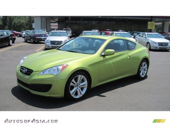 Green Hyundai Genesis Coupe SAE