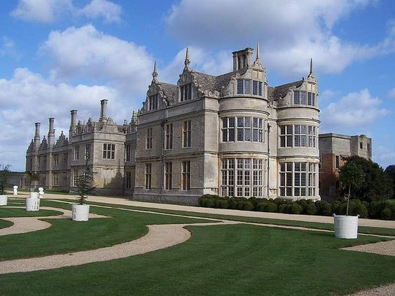Kirby Hall is one of England's greatest Elizabethan and 17th-century houses-Corby, Northamptonshire