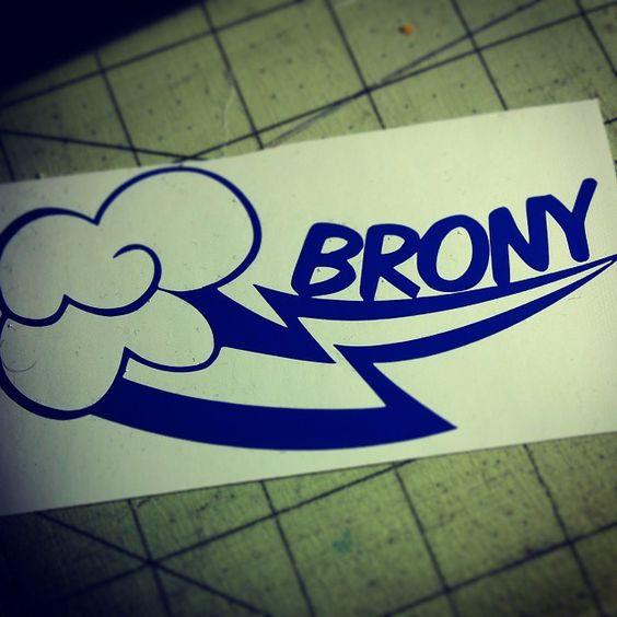 Brony - My LIttle Pony - Vinyl Car Sticker Decal