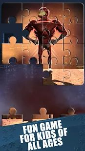 Superhelden Legpuzzels Spel - screenshot thumbnail