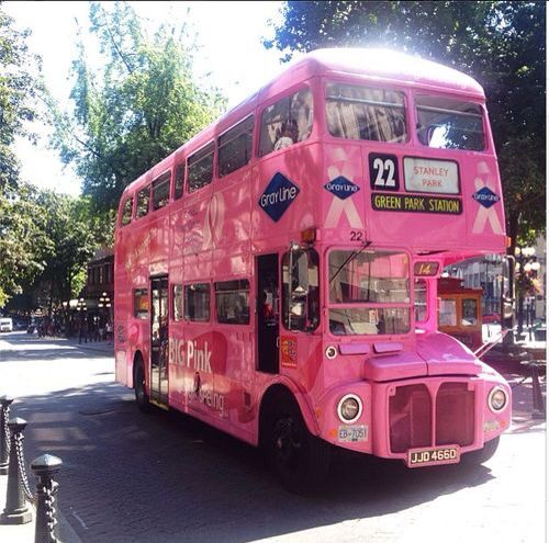 Touring around...Pink Princess style!
