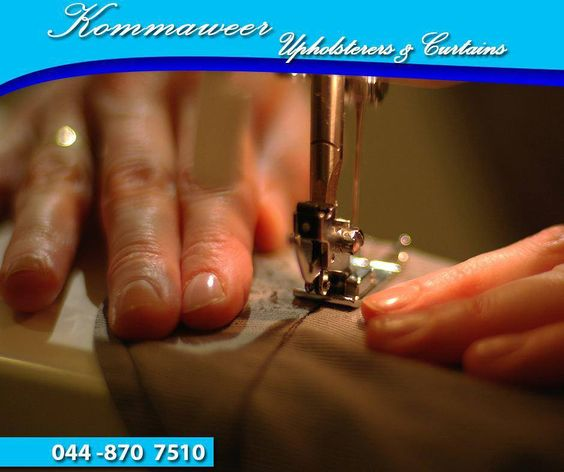 For reliable and professional #upholstery services, contact #KommaweerUpholsterers on 044 870 7510. We will be more than happy to assist you so that your furniture is as good as new.