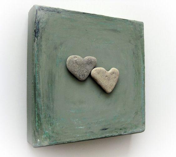 Único regalo de cumpleaños para su corazón en por MedBeachStones