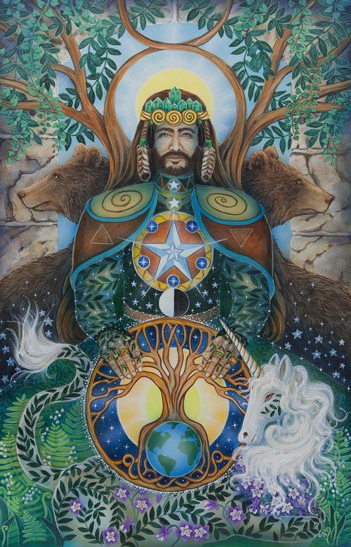 King of Pentacles Cathy McClelland