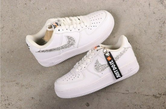 Nike Air Force 1 Low Just Do It Pack White Clear Bq5361 100 Nike