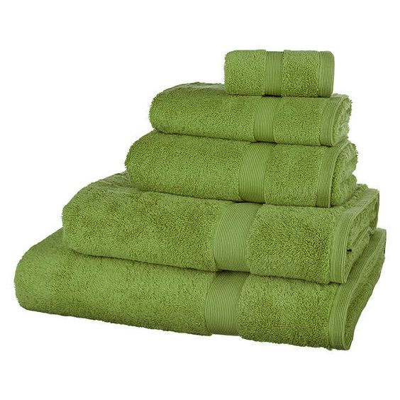 BuyJohn Lewis Egyptian Cotton Face Cloth, Apple Green Online at johnlewis.com 2 X hand towels