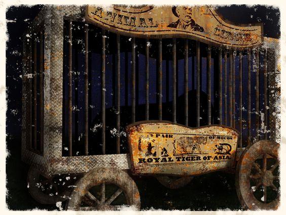 circus animal cage  by ~kepondangkuning