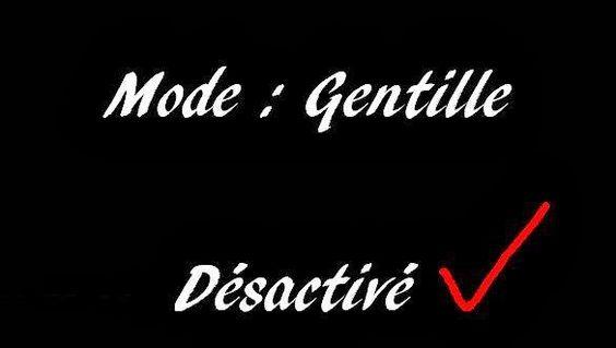 Citations+et+Panneaux+Facebook+à+partager:+Marre+d'être+trop+gentille+!