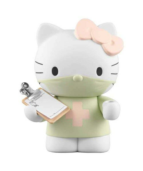 MEDICOM TOY DR. ROMANELLI HELLO KITTY ❤ VCD Figure Green Normal Japan