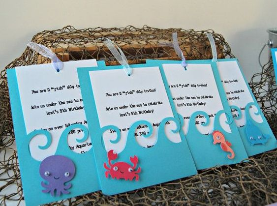 under the sea party invitations under the sea birthday party invitation - Under The Sea Party Invitations