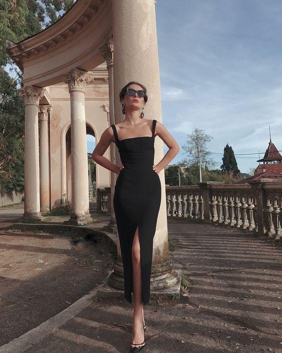 11.2 тыс. отметок «Нравится», 74 комментариев — Asmat (@asmatchkotua) в Instagram: «самое идеальное чёрное платье мечты @rasario 💥»