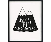 Paqhuis poster lets be adventures