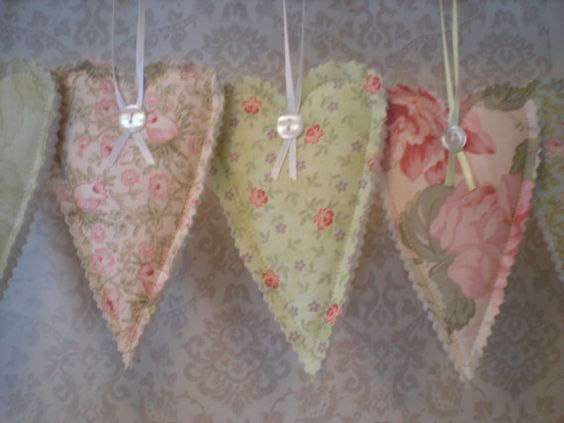 Sachet Heart Sachet Shabby Chic Drawer Freshener Air Freshener Car Freshener Room Freshener Cl Shabby Chic Drawers Room Freshener