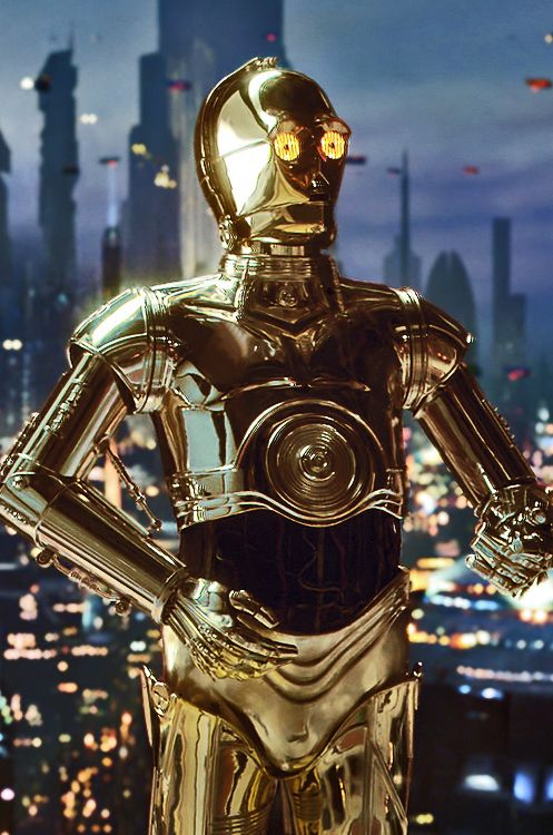 R2d2 And C3po In Movie C-3PO from Revenge of ...