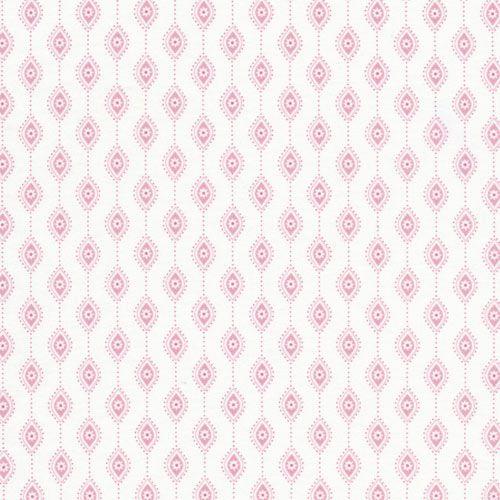 Papier Pink Fabric By The Yard : All Fabrics at PoshTots