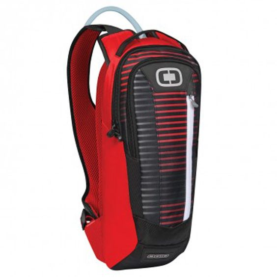 ogio 122006.501 Atlas 100 oz./3 Liter Hydration Pack - Stoke Pattern. 2 stretch mesh pockets on shoulder straps for storing GEL packets and/or Bite Valve docking station. Low profile design fits under/over roost deflector and jersey. 600D/400D Polyester exterior is durable and has a DWR coating to protect against extreme weather conditions. Rider friendly padded shoulder strap with adjustable sternum strap and tube routing system. Padded Air mesh shoulder straps and back panel for wicking...