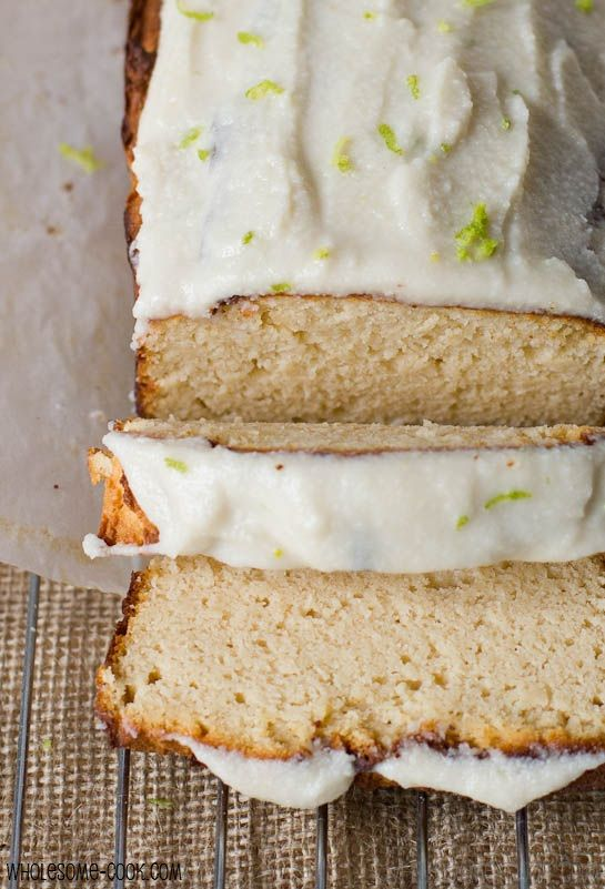 Coconut and Lime Pound Cake  ( gluten-free, dairy-free, sugar-free and grain-free)
