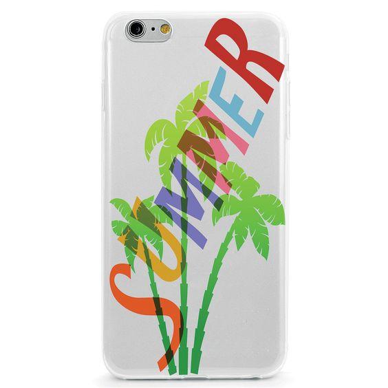 Rainbow Summer Palm Tree