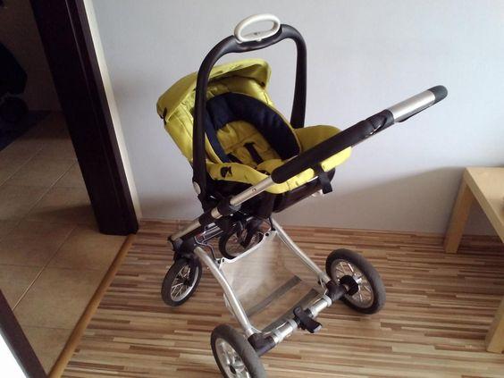 Mutsy 4 Rider gondola + fotelik Safe2Go
