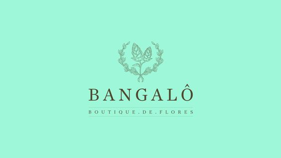Bangalô Boutique de Flores on Behance