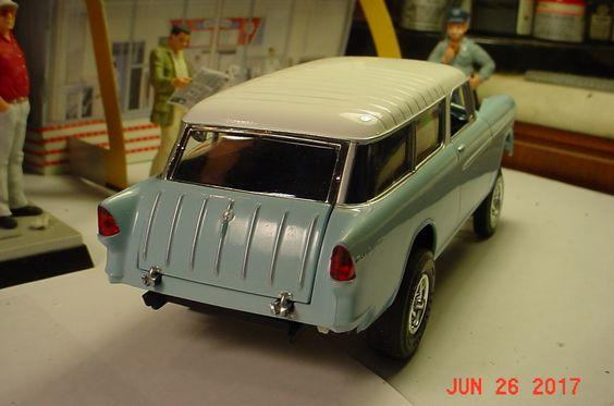 1955 Chevy Nomad Gasser