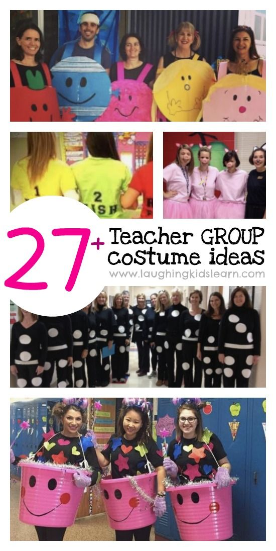 Halloween Costume Ideas 2020 From Books 27+ awesome teacher group costume ideas   Laughing Kids Learn in