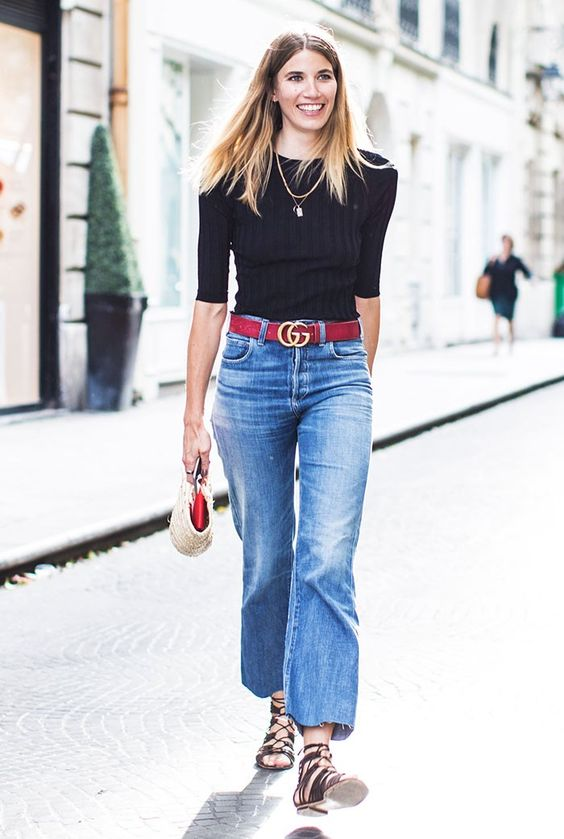 12 Ways to Wear Denim When It's So Hot Out via @WhoWhatWear: