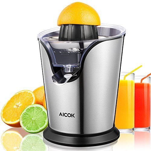 Aicok Citrus Juicer Electric 100w Stainless Steel Citrus Juicer
