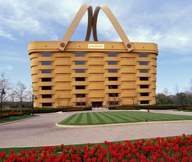 World s largestbasket newark oh the winter head to Longaberger basket building for sale