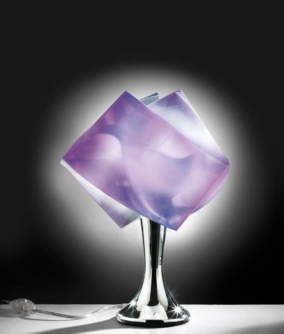 table lamp gemmy prisma color abat jour by slamp design tommaso ragnisco - Abat Jour Color