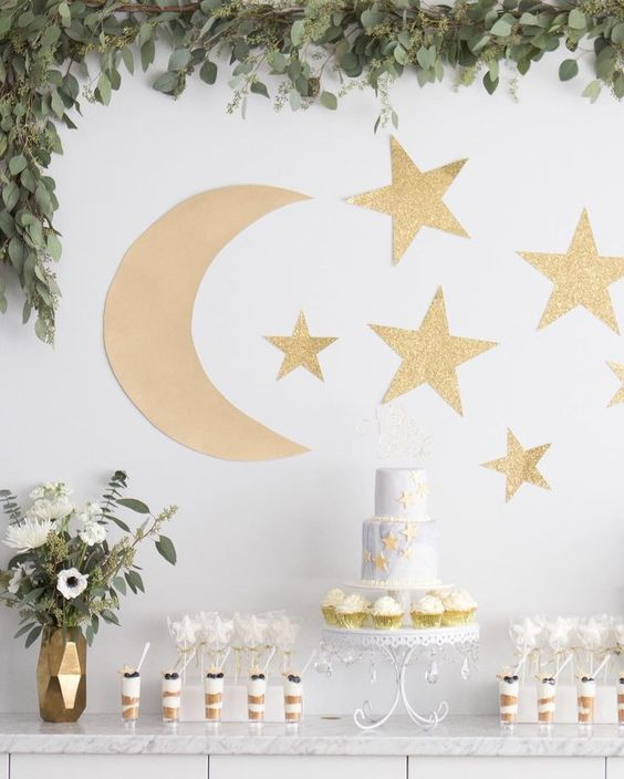 "Loved planning & hosting a sweet little baby shower for @stephaniemichellexo. We chose an ""I love you to the moon & back"" theme and couldn't be more happy about how everything turned out! Can't wait to meet baby soon!"