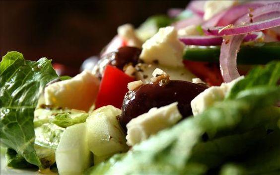 I can eat Greek salad everyday