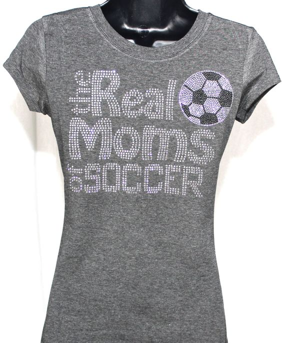 Soccer Mom  The Real Moms of Soccer by TheTeeShirtMakers on Etsy, $19.99