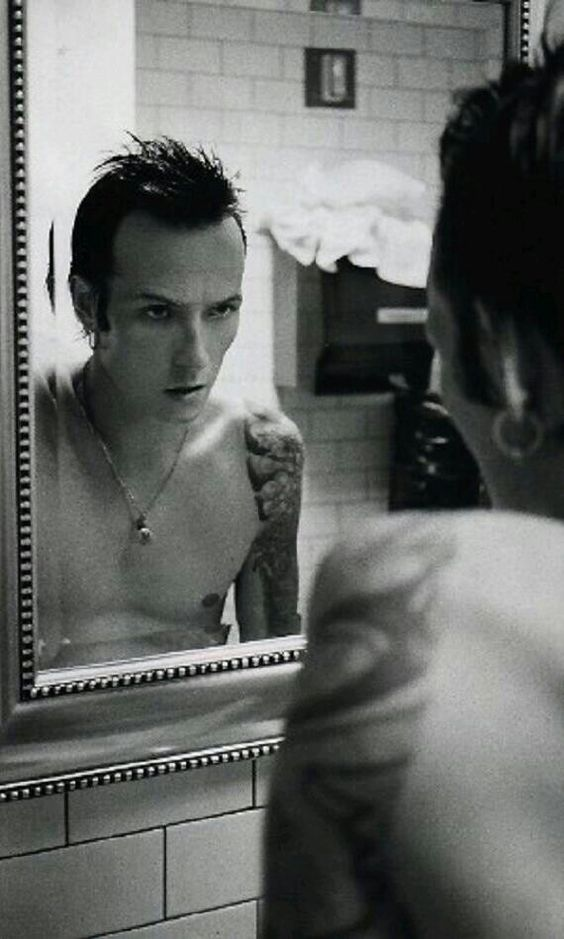 """Scott Weiland. (Sour Girl Era?) That's my favorite STP song and he's the random bad boy in my crush pile. I like his femininity. Scott just seems like he would understand the words """"moon cycle""""...he goes through so many cycles of his own."""