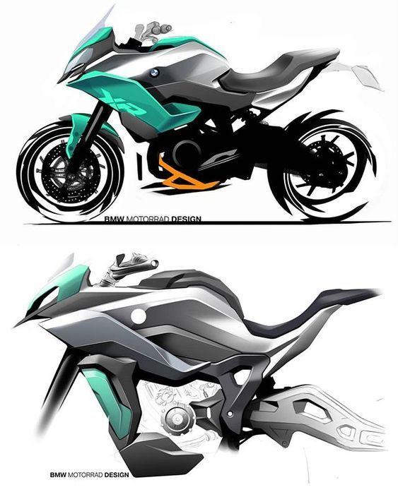 Bmw S900xr S1000xr 2020 Concept Motorcycles Sketches Bike Sketch Motorbike Design