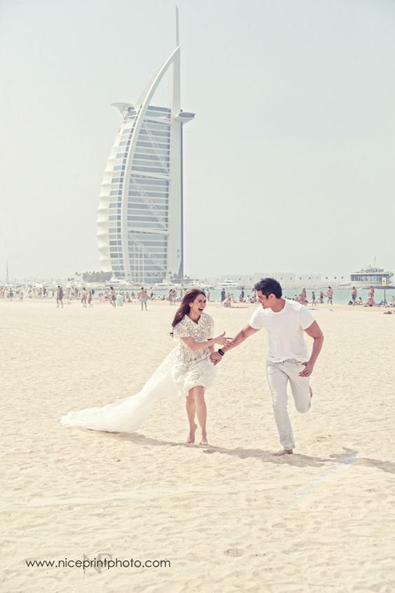 Celebrity Pre-Wedding Video and Photos of Dingdong Dantes and Marian Rivera in Dubai | http://brideandbreakfast.ph/2014/12/31/celebrity-pre-wedding-video-of-dingdong-dantes-and-marian-rivera-in-dubai/