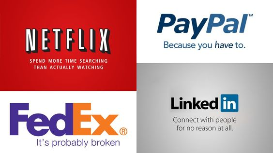 logo & taglines of famous brands - brand marketing agency - creative thinks media