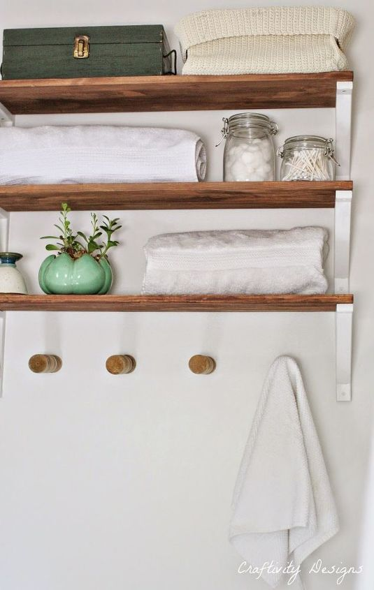 How To Fake Reclaimed Wood Shelves With New Wood Reclaimed Wood Shelves Wood Shelves Shelves