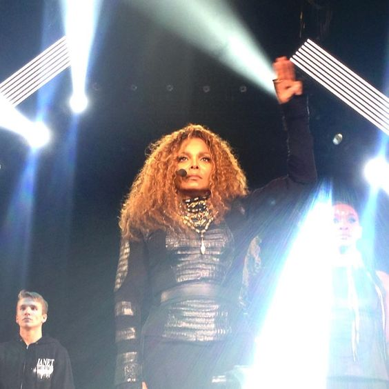 """""""We are a part of the #RhythmNation #UnbreakableTampa #janetjackson #conversationsinacafe #dance @janetjackson"""""""