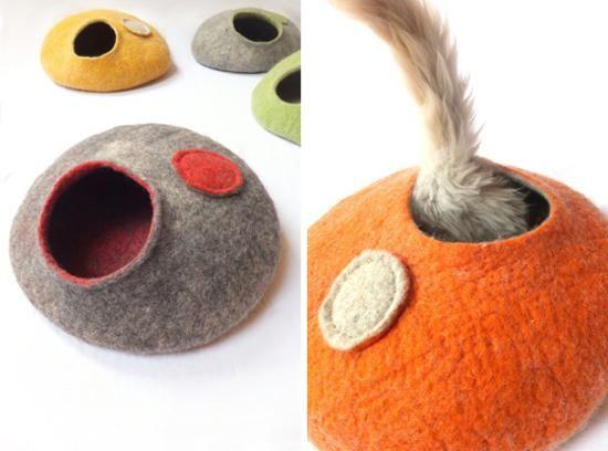 idéias de artesanato criativas para fazer camas para animais