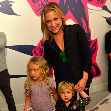 Jessica Capshaw and her family