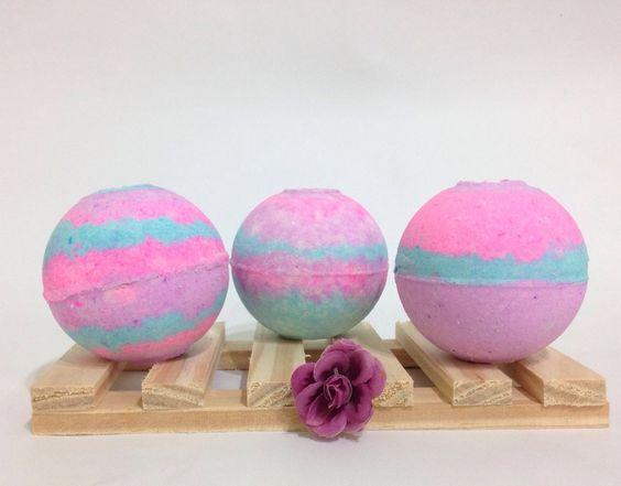 Esferas Efervescentes para um banho incrível em banheira!